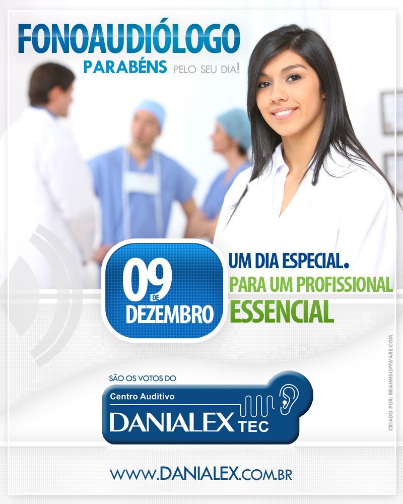 Newsletter Danialex TEC para o dia do Fonoaudiólogo em 09/12/2010
